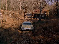 """Discover The Evil Dead Cabin in Morristown, Tennessee: All that's left of the quintessential """"cabin in the woods. Morristown Tennessee, Morristown Tn, Tennessee Attractions, Tennessee Vacation, Evil Dead 1981, Horror House, Haunted Places, Spooky Places, Scary Movies"""