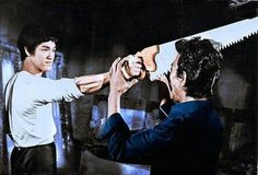 This scene from ( The Big Boss ) Fist Of Fury was delayed from the film. I Never Seen it. Very Rare.