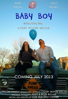 This is so Cool ! Baby Gender Announcement Please Repin