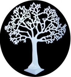 New The Large Tree of life, White, Jewellery stand, art, decoration, great gift