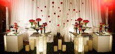 decoração de casamento vermelho - Pesquisa Google