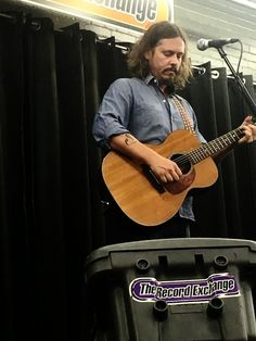 """John Paul White of """"The Civil Wars."""" His only Boise performance, at The Record Exchange."""