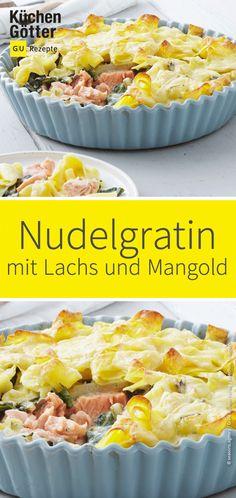 Quiche, Potato Salad, Potatoes, Baking, Ethnic Recipes, Food, Swiss Chard Pasta, Chard Recipes, Salmon Food