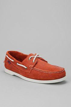 Sebago Dockside Boat Shoe  #CuzItsOrange