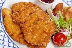 Receita de Filés de linguado à milanesa em receitas de peixes, veja essa e outras receitas aqui!