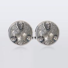 Hey, I found this really awesome Etsy listing at https://www.etsy.com/listing/187926315/han-solo-cufflinks-men-custom-jewelry