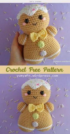 Crochet Easter, Cute Crochet, Crochet Baby, Crochet Frog, Crochet Christmas, Free Christmas Crochet Patterns, Crochet Men, Crochet Angels, Crochet Ornaments