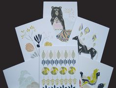 Beautiful digitally printed #greetingcards - all eco too!