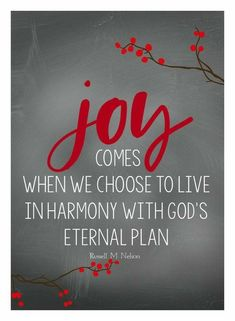 December 2016 Visiting Teaching Message by Mimileeprintables Joy Quotes, Faith Quotes, Bible Quotes, Great Quotes, Inspirational Quotes, Quotes About Joy, Happiness Quotes, Friend Quotes, Happy Quotes