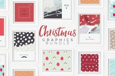 20% OFF: Christmas Graphics Bundle by Zeppelin Graphics on @creativemarket