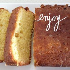 The most delicious lemon teacake recipe ever. A great afternoon tea treat! Afternoon Tea Recipes, Lemon Loaf, Torte Cake, Different Cakes, Tea Cakes, Easy Snacks, High Tea, No Bake Cake, Amazing Cakes