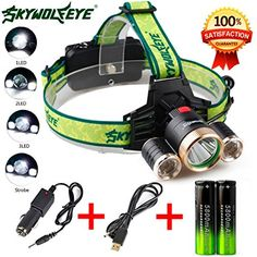 FlashlightBaomabao 4Modes 9000Lm 3X XML T62R5 LED Headlamp Head Light Torch USB 18650 Car Charger >>> Want additional info? Click on the image.(This is an Amazon affiliate link and I receive a commission for the sales)