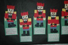 Nutcracker art  and writing lesson for interdisciplinary unit