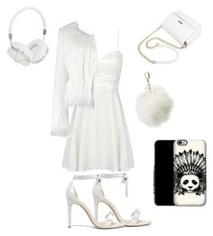 """""""All white"""" by mes-mya ❤ liked on Polyvore featuring Alexandre Birman, Charlotte Russe and Frends"""