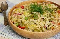 Potato Salad, Cabbage, Potatoes, Vegetables, Ethnic Recipes, Food, Salads, Cabbages, Potato