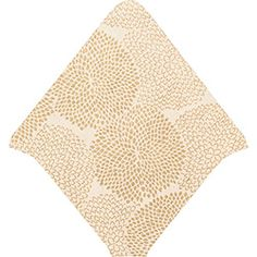 Gold on Cream Mums Envelope Liners