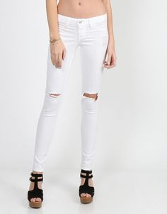 Lightweight Ripped Skinny Jeans from Shop more products from on Wanelo. 3a5c8b1d68