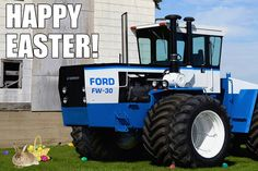 Happy #Easter from all of us at Heritage Iron!  Photo by Super T. Ford FW-30 owned by the Jerry McGee Family of Longview, IL.