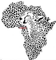 AFRICAN LEOPARD CROSS STITCH CHART