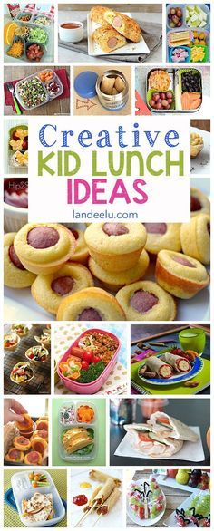 Creative School Lunch Ideas