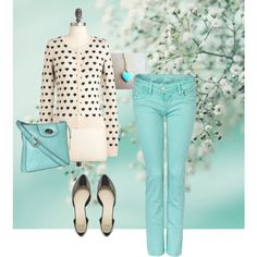 Hearts in the spring by kaladelia on Polyvore