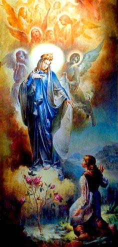 Puntadas marianas: Nuestra Señora de Caravaggio