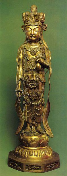 Bodhisattva Kuan-Yin    China. 11th century, Bronze, cast and chased.