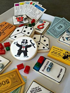 """""""Play with Your Food Collaboration""""  Monopoly by TLC (Trinnie Loves Cookies)"""