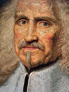 Mosaic Portrait of Camillo Rospigliosi / Getty Center