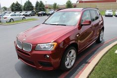 2014 Bmw X3 xDrive28i AWD xDrive28i 4dr SUV SUV 4 Doors Red for sale in Schererville, IN Source: http://www.usedcarsgroup.com/used-bmw-for-sale-in-schererville-in