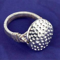 Hammered #Ring