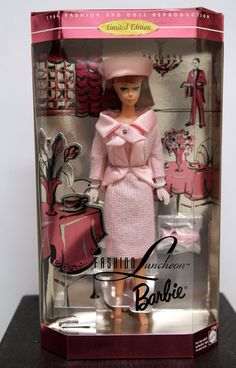 Fashion Luncheon Barbie Limited Edition Reproduction of 1966 Doll and Fashion Barbie And Ken, Barbie Dolls, Kewpie, Barbie Collector, My Childhood, Your Favorite, Nice, Friends, Style