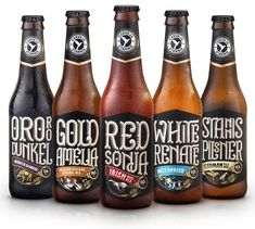 Earlier this year, Stannis introduced new packaging and promo items for all of its beers (while the logo remains the same) designed by local firm Firmorama.