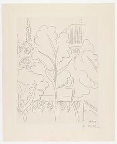 Henri Matisse, La Cité-Notre-Dame, 1937