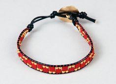 http://caravanbeads.com/blog/Making-a-leather-wrap-bracelet