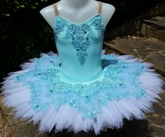 Aqua Sparkles Classical Ballet Tutu Koz I Love Tutus https://www.facebook.com/KozILoveTutus/