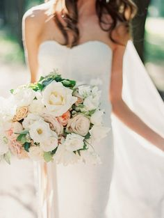 My favorite bouquet in this group. Looks super pretty - would want to make sure the pinks line up with the bridesmaid dresses and maybe a tad more greenery Blush Bouquet, Flower Bouquet Wedding, Flower Bouquets, Wedding Bells, Fall Wedding, Dream Wedding, Bride Bouquets, Bridesmaid Bouquet, Bridesmaid Dresses