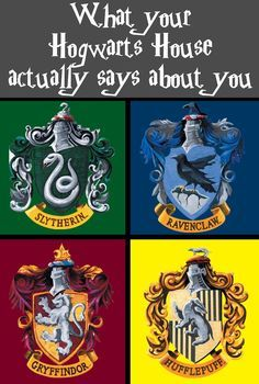 What Your Hogwarts House Actually Says About You
