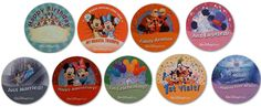 Build your own Disney theme park style buttons - from @Shannon, WDW Prep School
