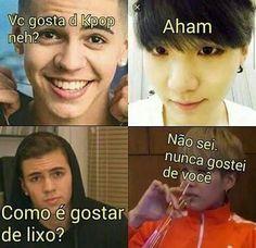 Memes bts portugues 15 Ideas for 2019 Bts Memes, Bts Meme Faces, Bts Suga, Bts Bangtan Boy, Foto Bts, K Pop, Spongebob, Rap, Funny Quotes