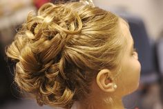 Flower Girl Updo Pictures | photo