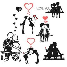 Sweet Love Couples Svg Cuttable Designs