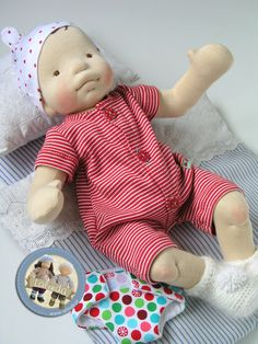 Baby boy doll by Lalinda.pl