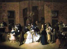 Pietro Longhi: Il Ridotto di Venezia, ca. 1750