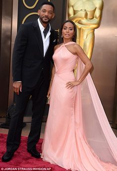 Elegante: Will Smith y su esposa Jada Pinkett Smith