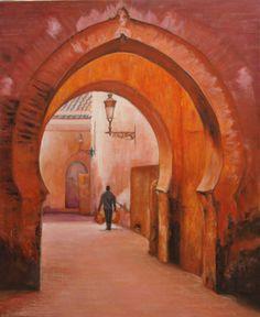Marruecos Callejas de Fez
