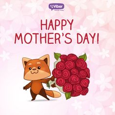 Freddie the Fox wishes everyone a Happy Mother's Day!