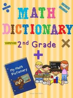 Interactive 2nd Grade Math Dictionary - Common Core
