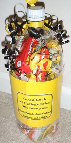 Creative way to give money as a | http://diy-gift-ideas.blogspot.com