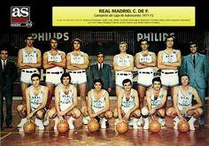 Real Madrid, campeón de Liga de Baloncesto 1971-72